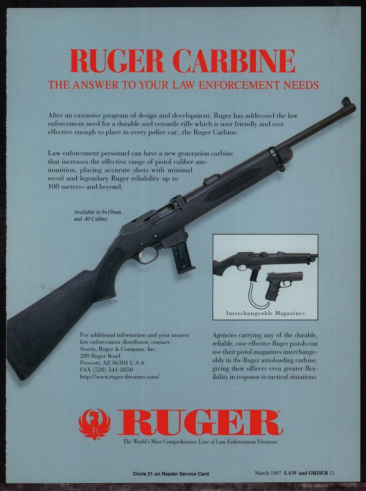 Ruger PC9…the original | Notes From The Bunker